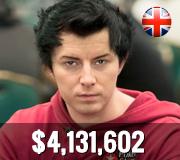 Top ten UK players - Jake Cody