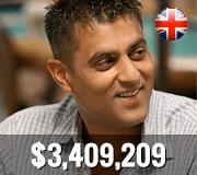 Top ten UK players - Ram Vaswani
