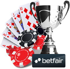 Betfair - game selection and tournaments
