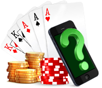 What is online mobile Poker?