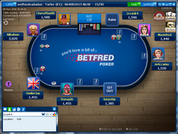 Betfred Table Preview